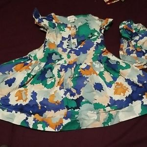 Gymboree dress with matching diaper cover